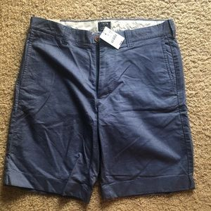 J.Crew Sun-Washed Cotton Oxford Gramercy Shorts